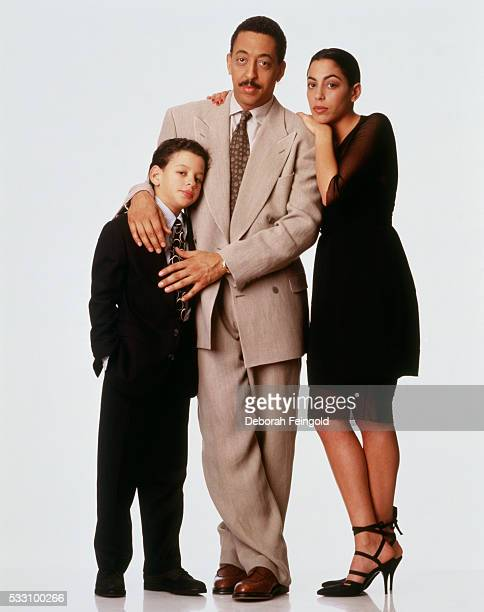 Gregory Hines with His Children Zachary and Daria