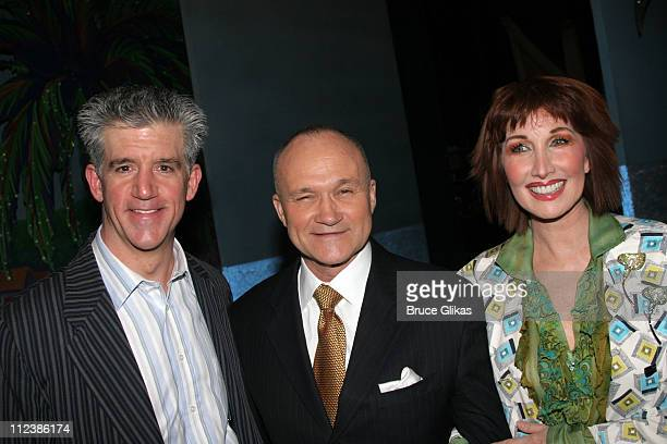 Gregory Jbara NYPD Commissioner Raymond W Kelly and Joanna Gleason **EXCLUSIVE COVERAGE**