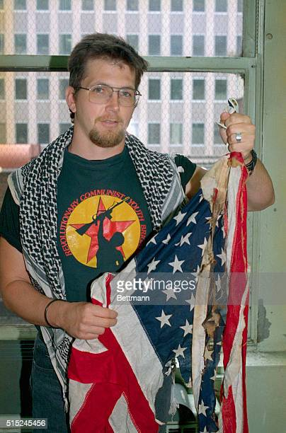 Gregory Johnson's conviction of burning the American flag was overturned by the U.S. Supreme Court.