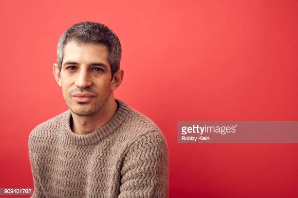 Gregory Kershaw from the film 'The Last Race' pose for a portrait in the YouTube x Getty Images Portrait Studio at 2018 Sundance Film Festival on...