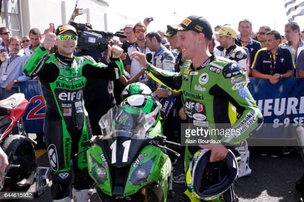 Gregory Leblanc / Julien Da Costa / Freddy Foray Kawasaki SRC 24 Heures du Mans 2012 Photo Alain Bourdaux / Icon Sport