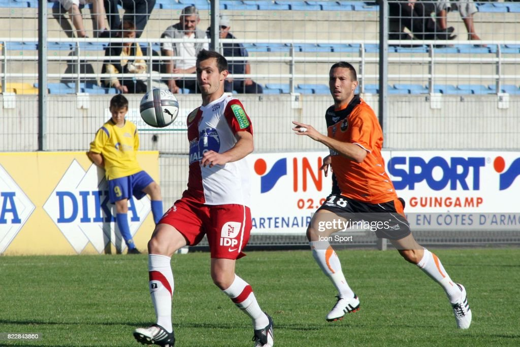 Gregory Lorenzi Morgan Amalfitano Brest Lorient Match Amical Saint Brieuc