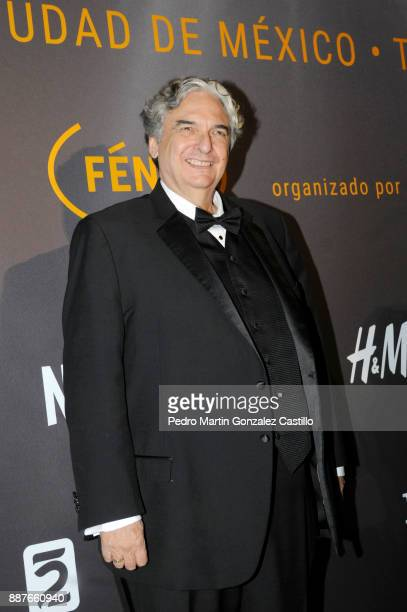 Gregory Nava poses during Fenix Iberoamerican Film Awards 2017 at Teatro de La Ciudad on December 06 2017 in Mexico City Mexico