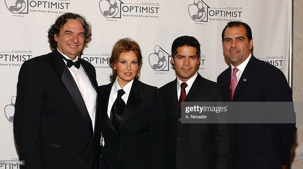 Gregory Nava, Raquel Welch, Esai Morales and Rocky Delgadillo, L. A. City Attorney