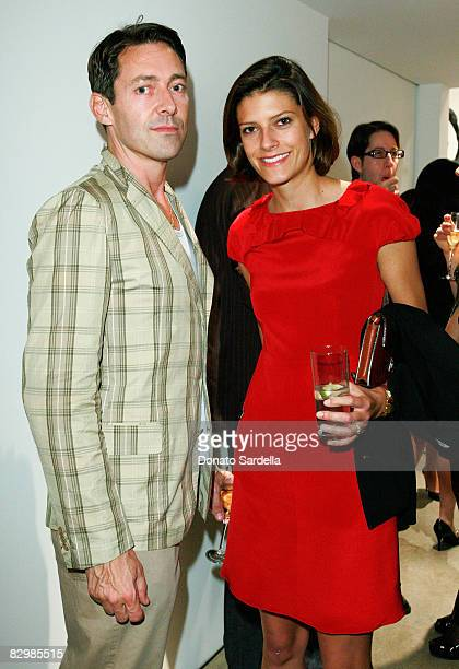Gregory Parkinson and Vogue West Coast Fashion Editor Lawren Howell attend a dinner hosted by Vogue and Mulberry celebrating the work of Alexandra...