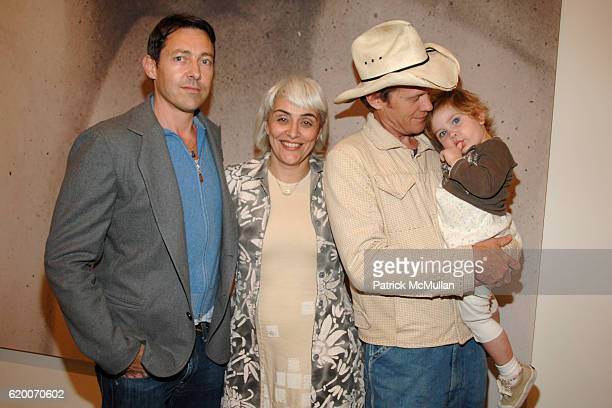 Gregory Parkinson Natalie 'Alabama' Chanin Butch Anthony and Maggie AnthonyChanin attend GAGOSIAN GALLERY Exhibition for JULIAN SCHNABEL at Gagosian...