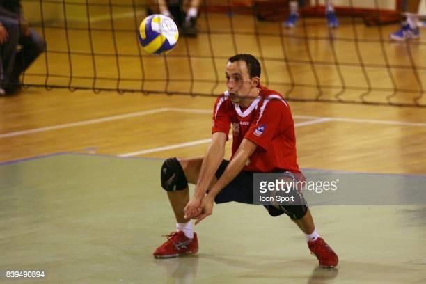 Gregory PATIN Asnieres / Tourcoing 8eme journee du championnat de Pro A de Volley