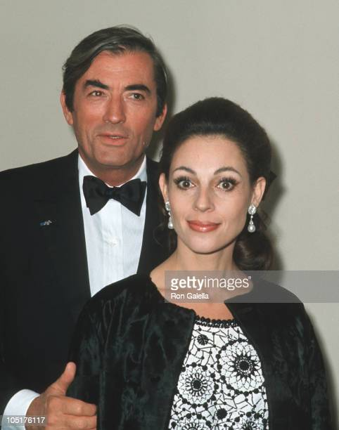 Gregory Peck and Veronique Peck during 22nd Annual Tony Awards After Party at Sardi's at Sardi's Restaurant in New York City New York United States
