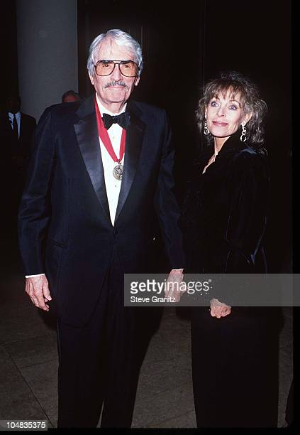 Gregory Peck during 1995 American Friends Hebrew University Scopus Awards Honoring Ted Turner at Beverly Hilton Hotel in Beverly Hills California...