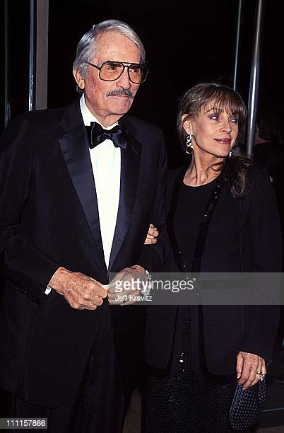 Gregory Peck during AFI Tribute to Steven Spielberg at Beverly Hilton Hotel in Beverly Hills CA United States