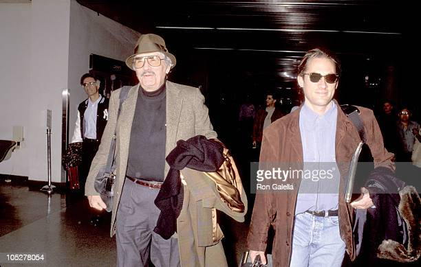 Gregory Peck Son during Gregory Peck Departing for NY at Los Angeles International Airport in Los Angeles California United States