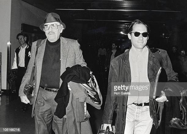 Gregory Peck son Tony Peck during Gregory Peck Departing for NY at Los Angeles International Airport in Los Angeles California United States