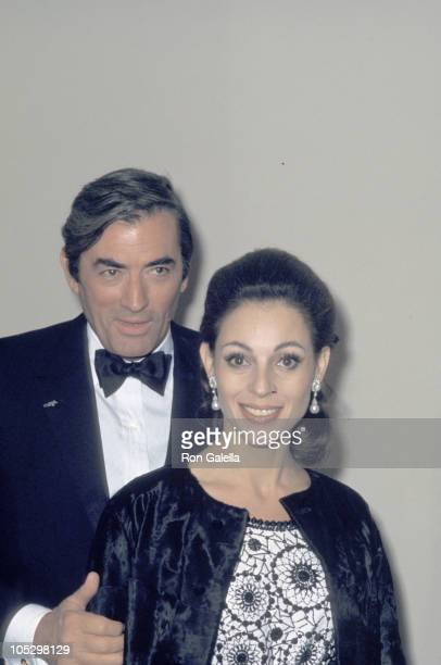 Gregory Peck Wife during 22nd Annual Tony Awards After Party at Sardi's at Sardi's Restaurant in New York City New York United States