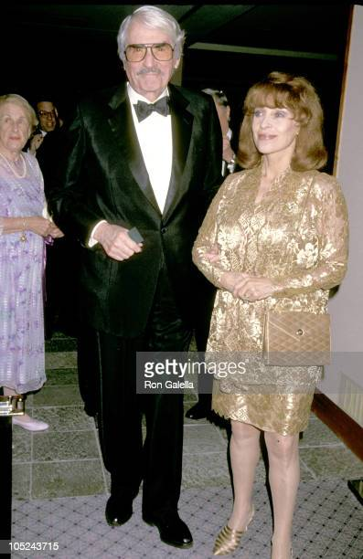 Gregory Peck Wife during 50th Anniversary Party For Charlton Heston and Lydia Heston at Hotel Nikko in Beverly Hills California United States