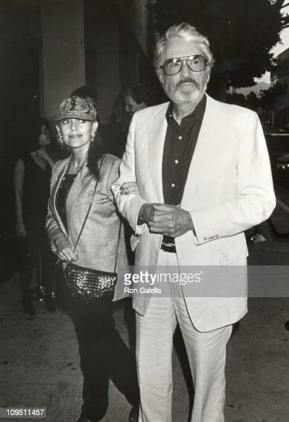 """Gregory Peck & wife Veronique during Screening of """"Crazy in Love"""" Hosted by TNT & Women In Film at Writers Guild in Beverly Hills, CA, United States."""