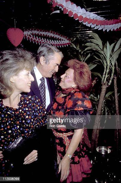 Gregory Peck Wife Veronique Regine Peck during Welcome to LA Party for Julio Iglesias at Chasen's Restaurant in Beverly Hills California United States
