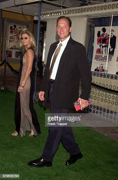 Gregory Peck's son Tony with his wife Cheryl Tiegs
