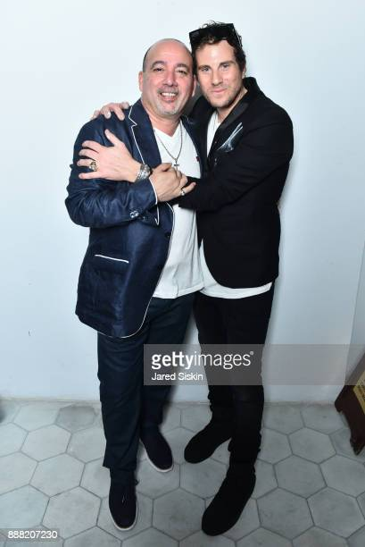 Gregory Pernice and Gregory Siff attend 4AM Presents Crash This A Private Exhibition Of New Paintings By Gregory Siff at Soho House Miami on December...