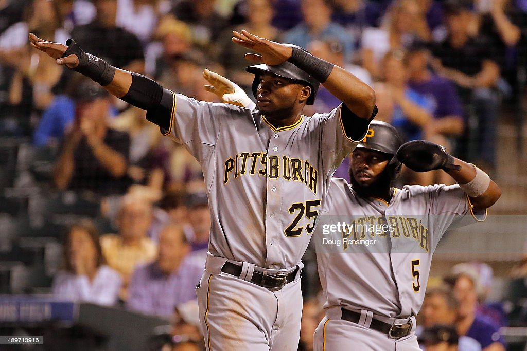 Pittsburgh Pirates v Colorado Rockies