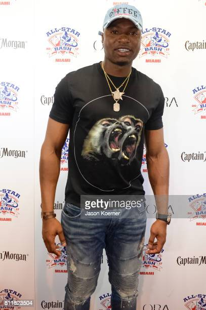 Gregory Polanco at the 2017 AllStar Bash sponsored by Captain Morgan during MLB AllStar Week Miamion July 9 2017 in Miami Beach Florida