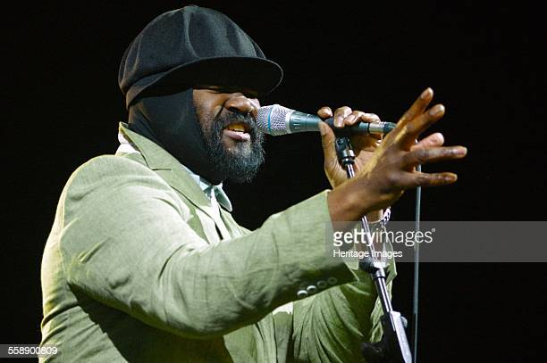 Gregory Porter Love Supreme Jazz Festival Glynde Place East Sussex 2014 Artist Brian O'Connor