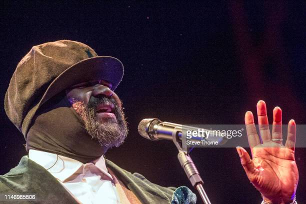 Gregory Porter performs onstage at Cheltenham Jazz Festival 2019 on May 4 2019 in Cheltenham England
