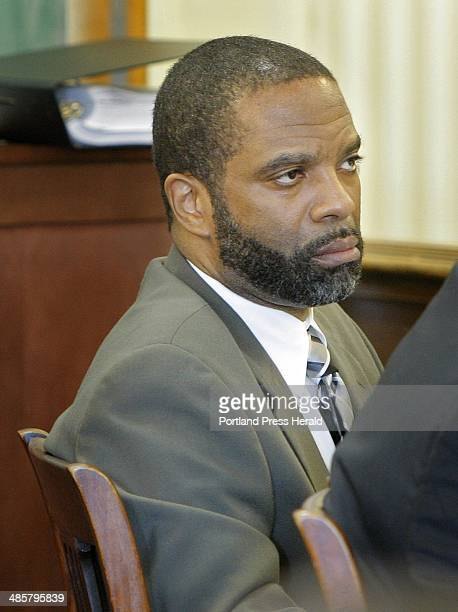 Jeffrey Williams listens to his lawyer's closing arguments at his trial in York County Superior Court in Alfred on Thursday June 24 2010 Williams and...