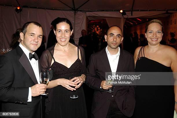 Gregory Saldina, Monica Ponce de Leon, Nader Tehrani and Katie Grishman attend Cooper Hewitt Museum's National Design Awards Gala at Cooper Hewitt...