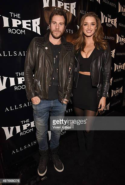 Gregory Siff and Alyssa Arce attend The Official Viper Room ReLaunch Party With Performance By X Ambassadors Dj Set By Zen Freeman at The Viper Room...