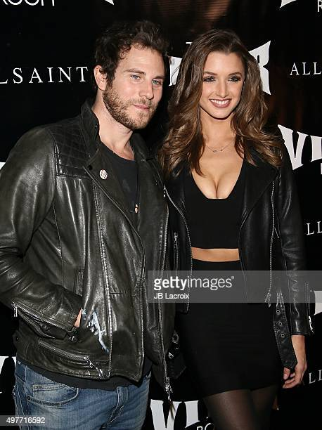 Gregory Siff and Alyssa Arce attend the Viper Room reLaunch party with X Ambassadors and Zen Freeman on November 17 2015 in West Hollywood California
