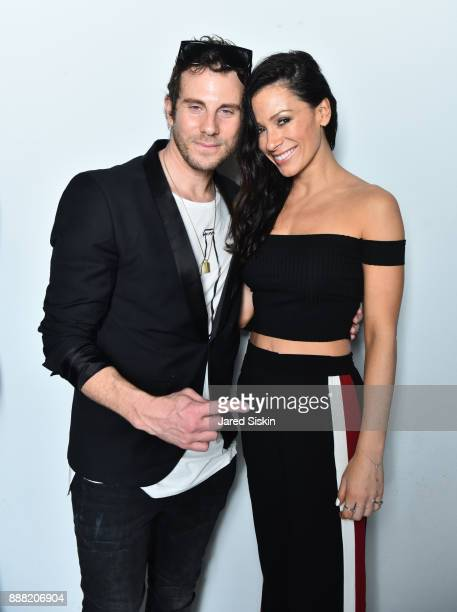 Gregory Siff and guest attend 4AM Presents Crash This A Private Exhibition Of New Paintings By Gregory Siff at Soho House Miami on December 7 2017 in...