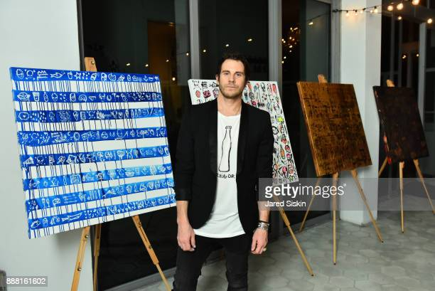 Gregory Siff attends 4AM Presents Crash This A Private Exhibition Of New Paintings By Gregory Siff at Soho House Miami on December 7 2017 in Miami...