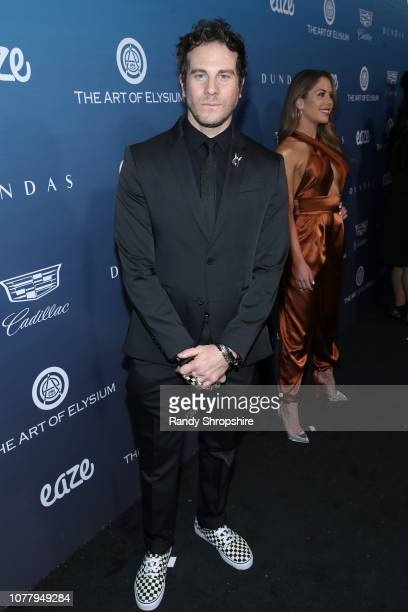 Gregory Siff attends Michael Muller's HEAVEN presented by The Art of Elysium on January 5 2019 in Los Angeles California