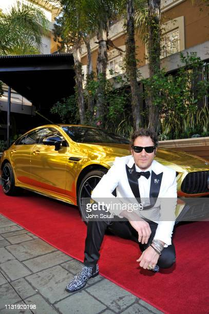 Gregory Siff attends the MercedesBenz USA Awards Viewing Party at Four Seasons Los Angeles at Beverly Hills on February 24 2019 in Los Angeles...