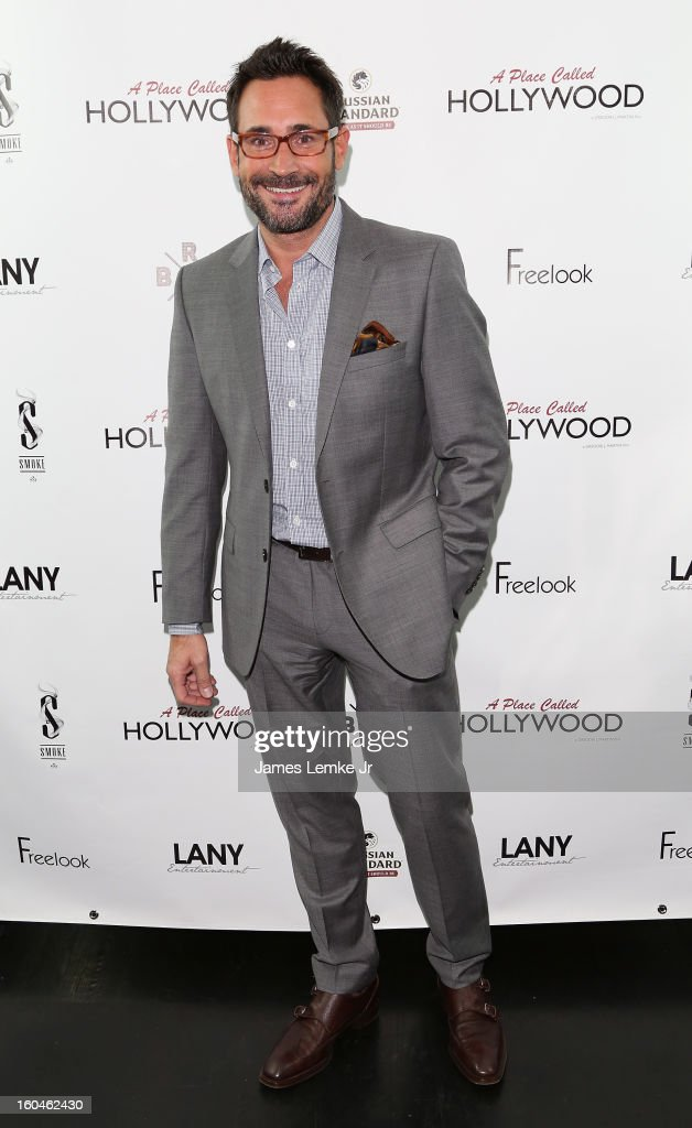 Gregory Zarian attends the 'A Place Called Hollywood' Official Wrap Party held at the Smoke Steakhouse on January 31, 2013 in West Hollywood, California.