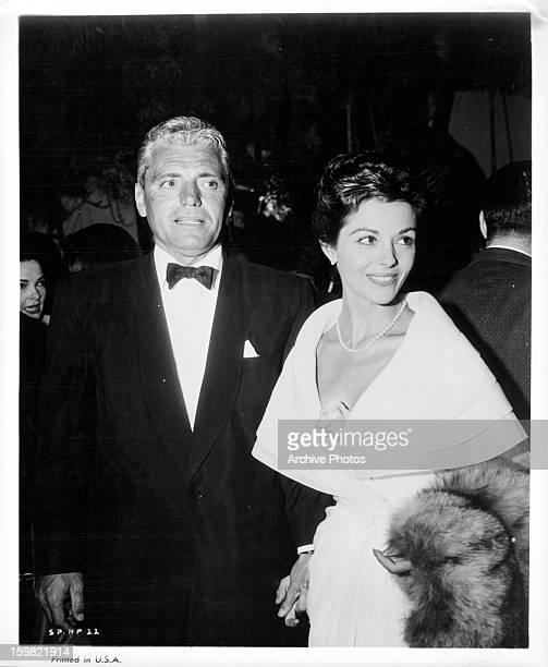 Gregson Bautzer and Dana Wynter at event circa 1968