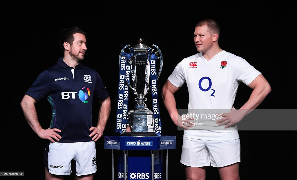 RBS Six Nations Launch : News Photo