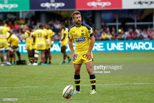 Greig Laidlaw of Clermont during Top 14 match between Clermont and Agen on August 25, 2018 in Perpignan, France.