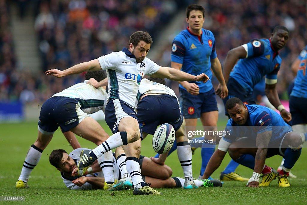 Scotland v France - RBS Six Nations : News Photo