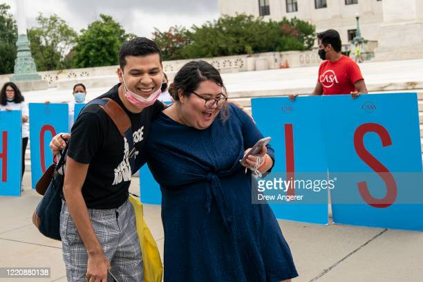 Greisa Martinez who grew up as an undocumented immigrant in Dallas Texas reacts and she reads the Supreme Court's decision regarding the Trump...