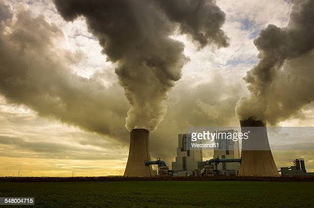 Gremany, North Rhine-Westphalia, Grevenbroich, Modern brown coal power station