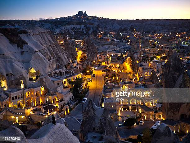 Göreme, Cappadocia in the Evening