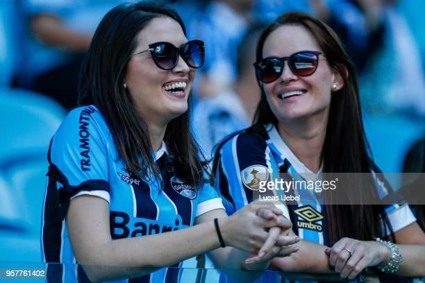 Gremio fans before the match Gremio v Internacional as part of Brasileirao  Series A 2018 at 242b0611ede83