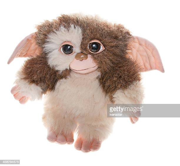 gremlin gizmo plush doll - monster fictional character stock photos and pictures