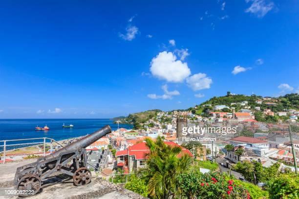 granada, st. george - paisajes de isla de  granada fotografías e imágenes de stock