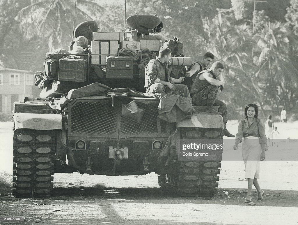 Grenada - US Invasion (1983)... : News Photo