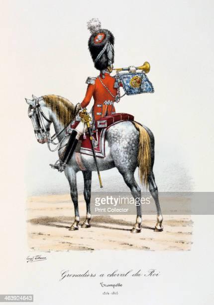 'Grenadiers à Cheval du Roi Trumpeter' 181415 Histoire de la Maison Militaire du Roi de 18141830 volume 2