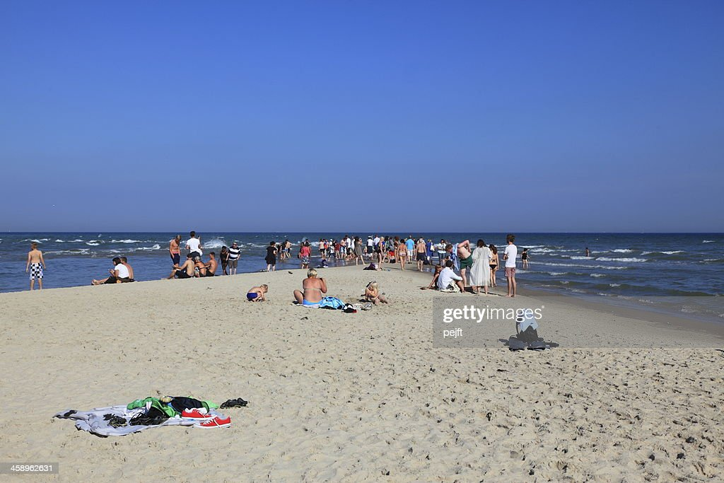 Grenen, Skagen the Spits of Denmark : Stock Photo