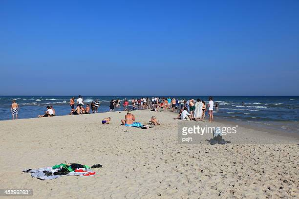 grenen, skagen the spits of denmark - pejft stock pictures, royalty-free photos & images