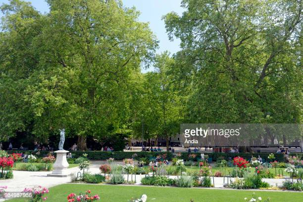 the 'Jardin de Ville' city garden in the city centre
